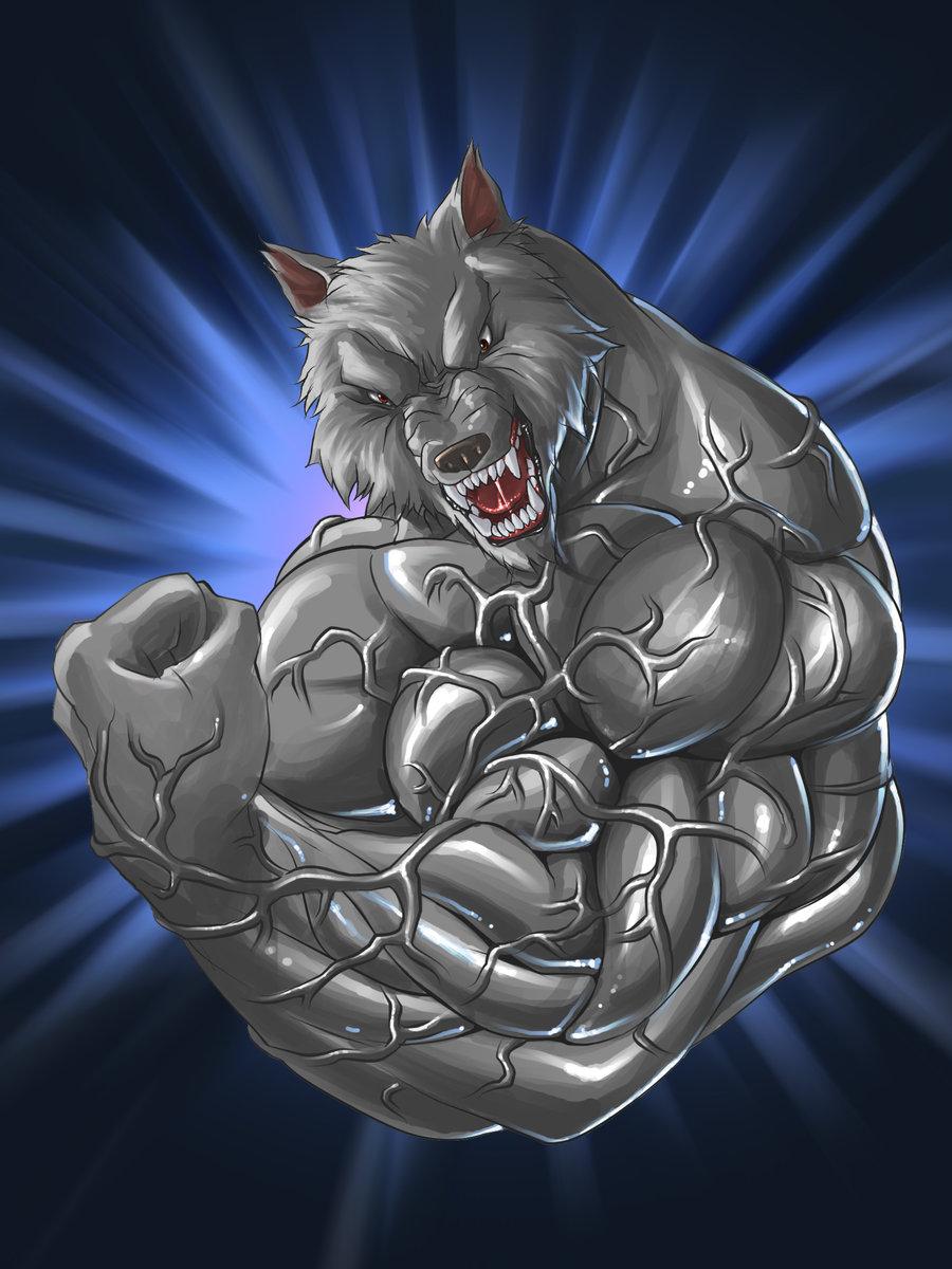 Drawn werewolf muscle Schreddedwolf Schreddedwolf Muscle Authentic on
