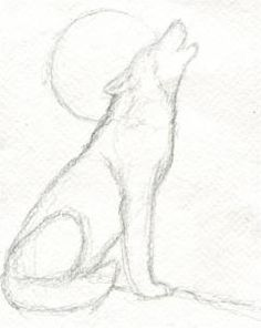 Drawn werewolf pencil drawing Easy Animals Pencil drawings Search