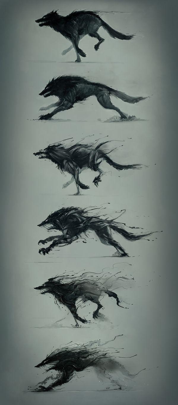 Drawn werewolf rage Pinterest ideas 25+ wolf on