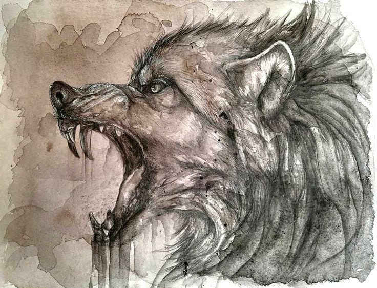 Drawn werewolf rage Files 218 on best scary
