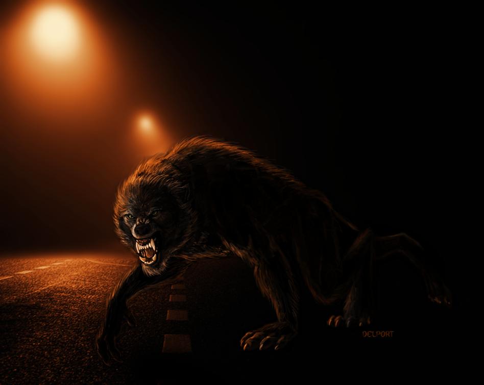 Drawn wolfman love DeviantArt Rage Road Werewolf Day