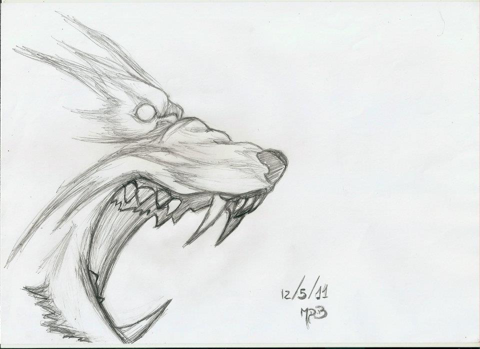 Drawn werewolf rage Talbain 2012 Rage DarkWolf2011 by