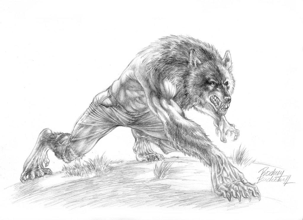 Drawn wolfman rage Did was Werewolves best a