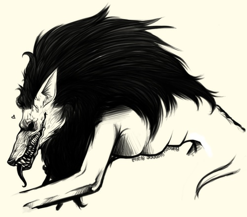 Drawn werewolf really Werewolves images 16 Pinterest Wolves