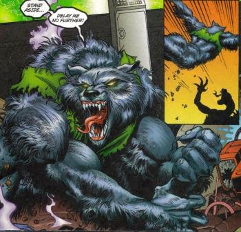 Drawn werewolf sabrewulf Sabrewulf Jiggeh Chucha616 Comic in