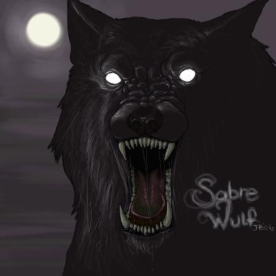 Drawn werewolf sabrewulf WildJenmonster by DeviantArt by WildJenmonster