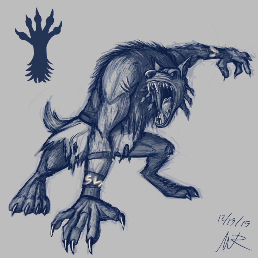 Drawn werewolf sabrewulf Marioshi64 DeviantArt by Marioshi64 by