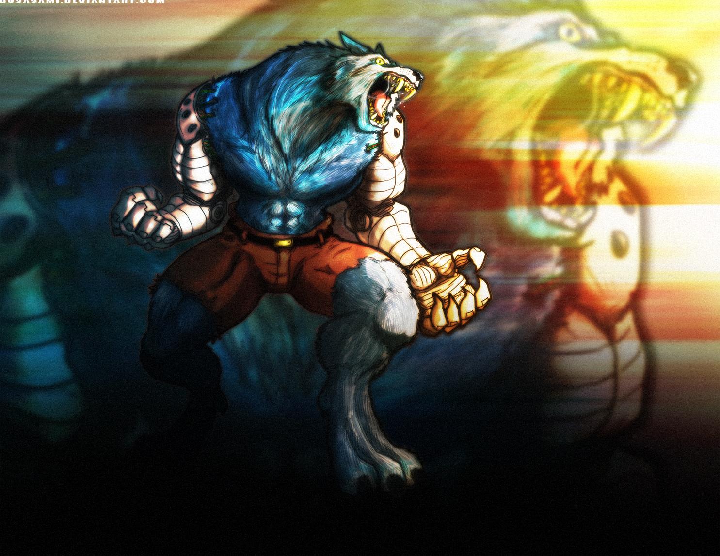 Drawn werewolf sabrewulf Killer Sabrewulf shoomlah DeviantArt by