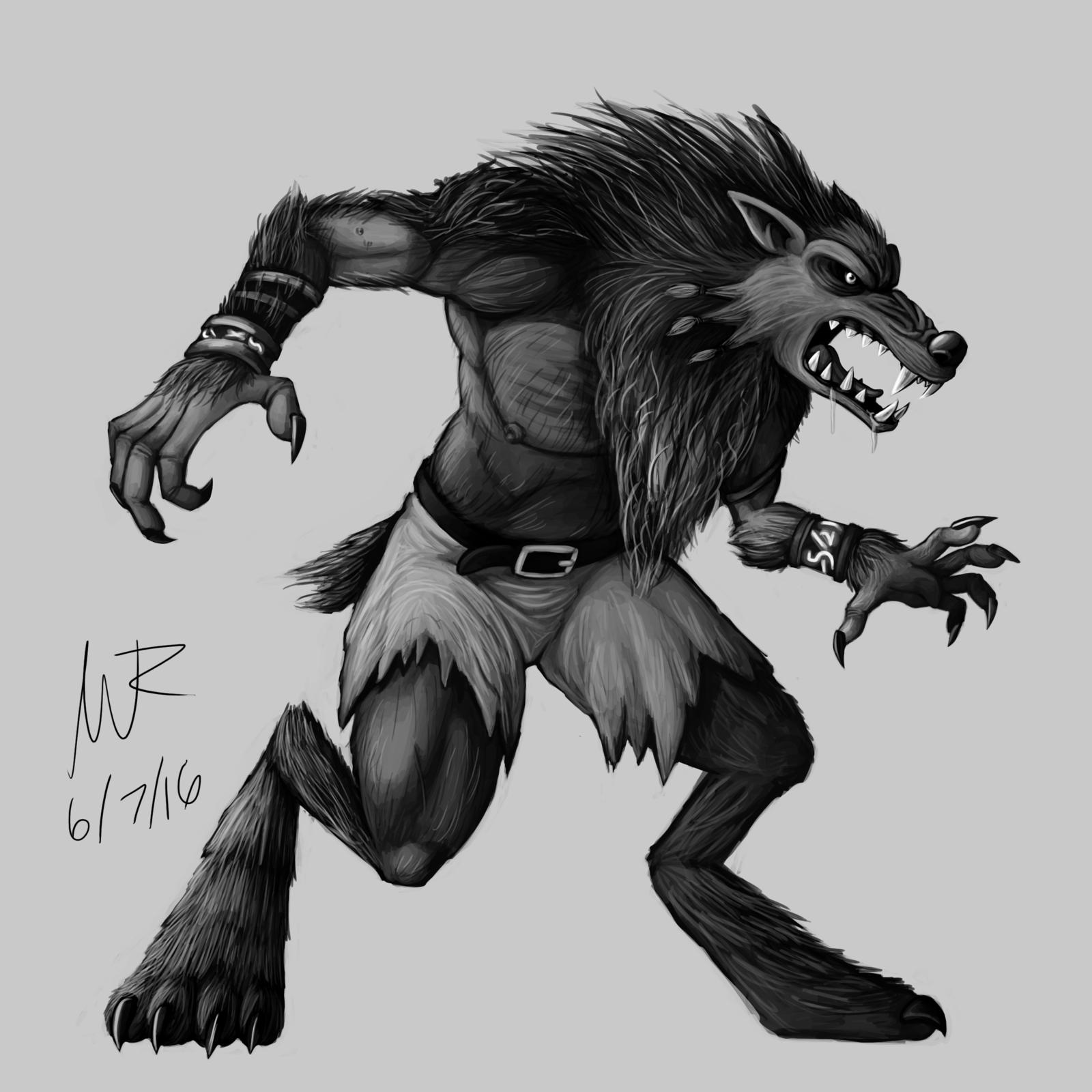 Drawn werewolf sabrewulf The Sabrewulf Lycanthrope: DeviantArt by