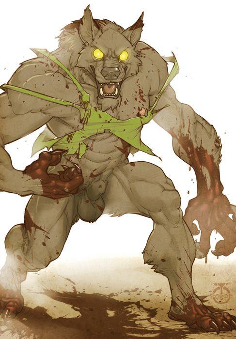 Drawn werewolf sabrewulf By Sabrewulf and best it
