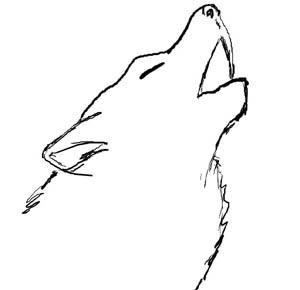 Drawn spirit simple Wolf Pinterest 25+ drawing wolf