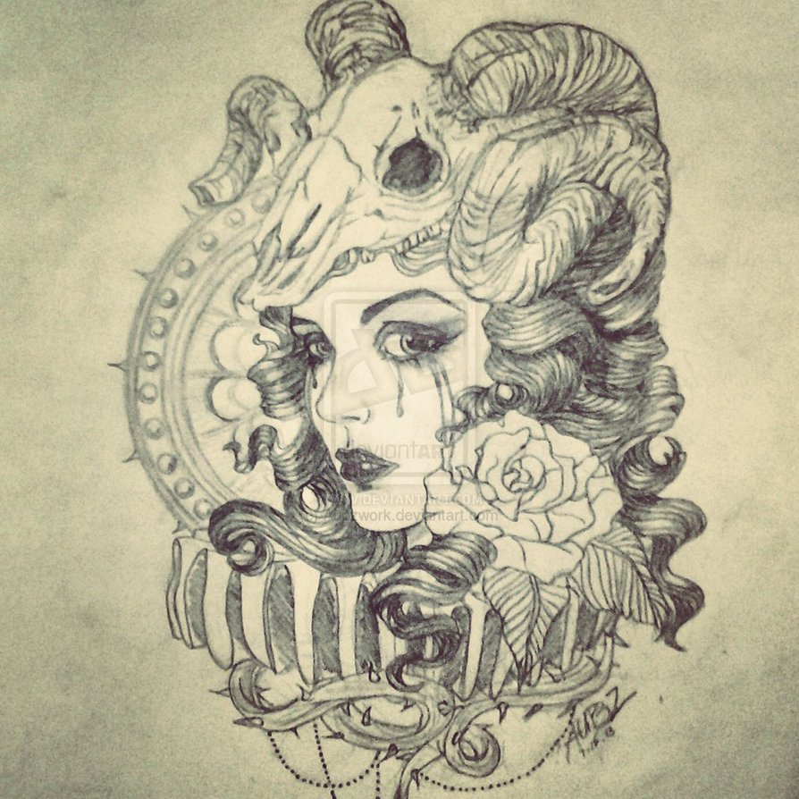 Drawn werewolf snake head Search snake tatoos and Google