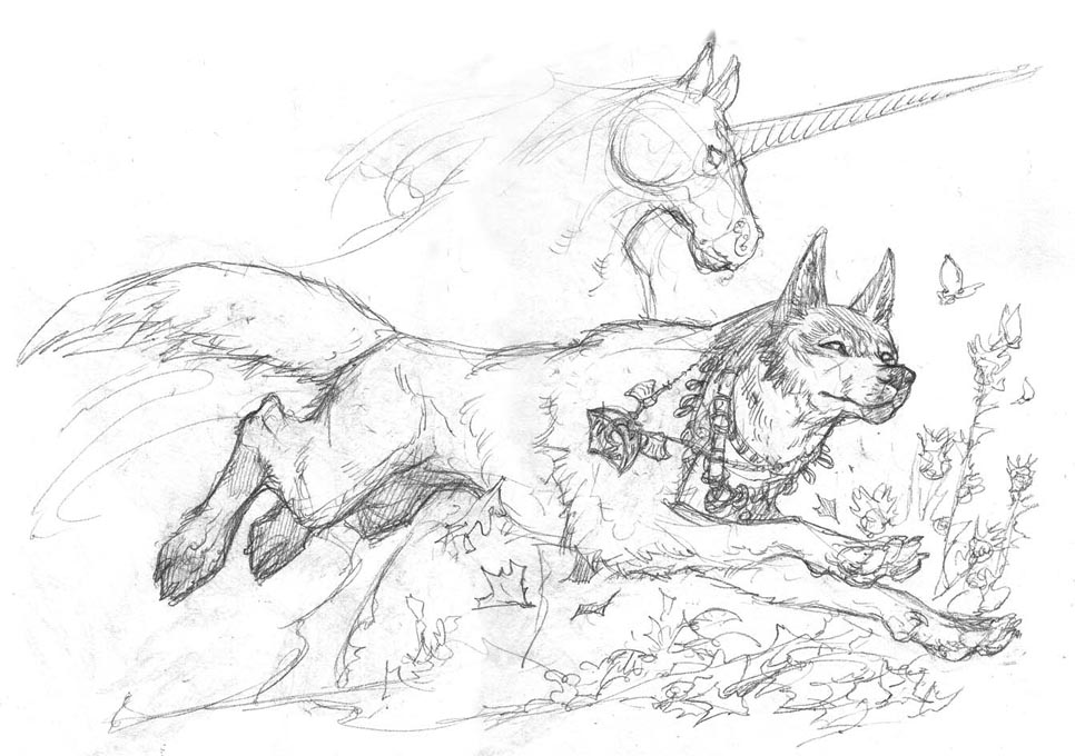 Drawn werewolf snarling wolf Sketch sketch Wolf wolf photo#7