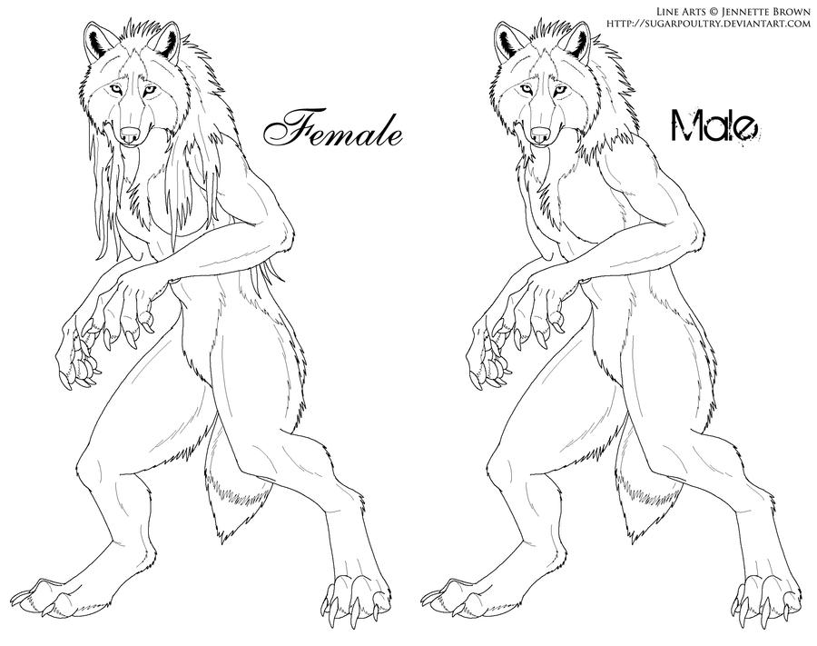 Drawn werewolf sugarpoultry  com com Werewolf on