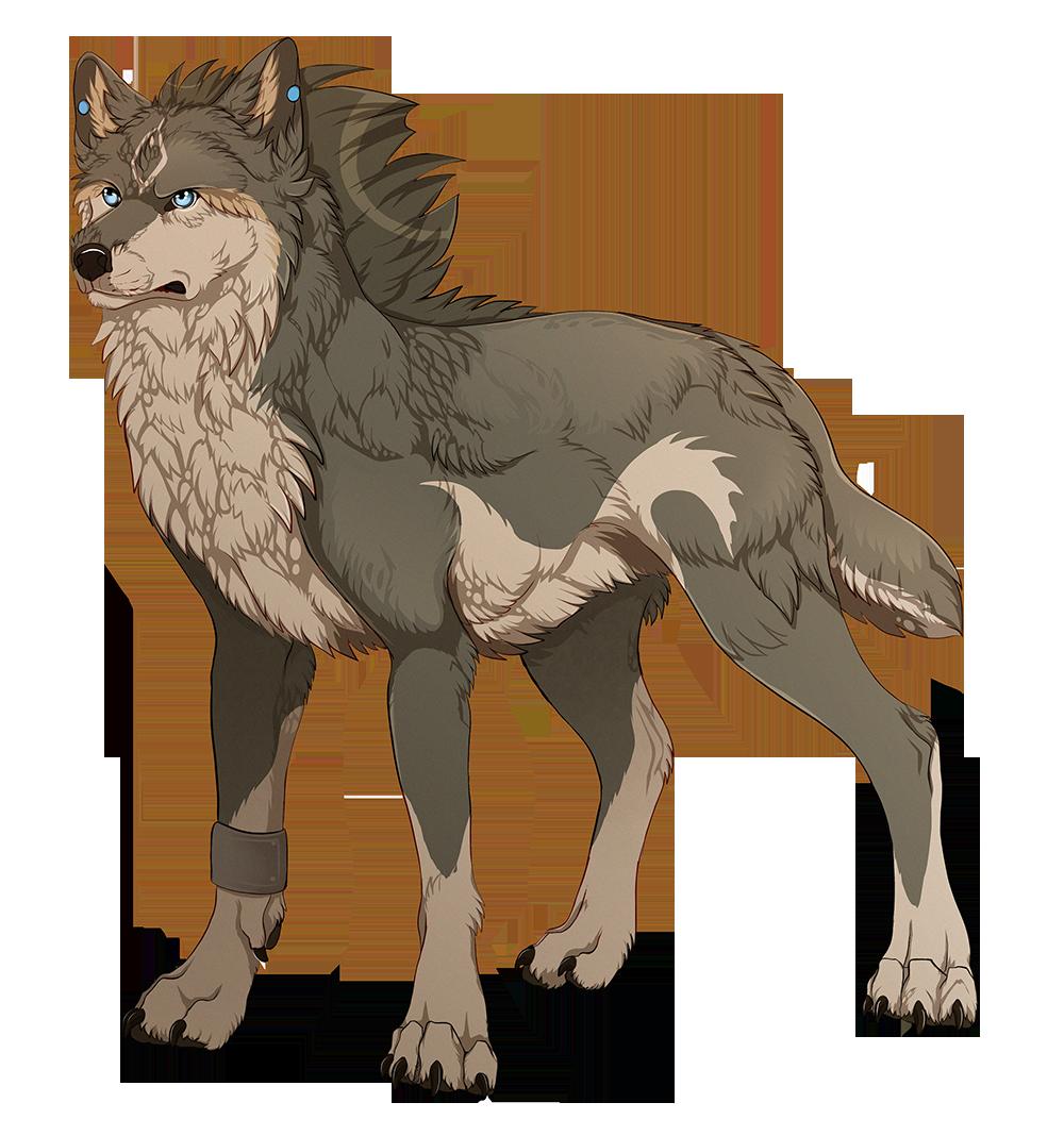 Drawn werewolf transparent Wolf Link Wolf MapleSpyder DeviantArt