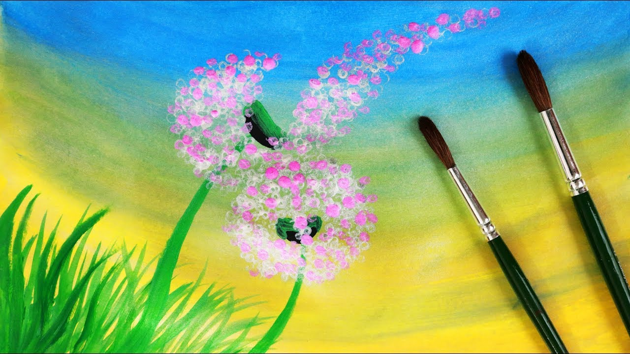Drawn wildflower beginner With at with how at