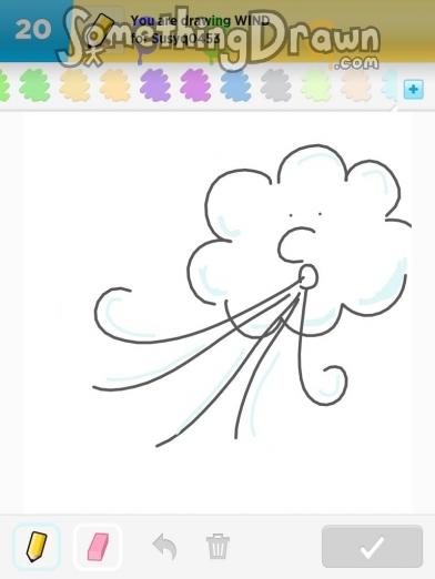 Drawn wind WIND SomethingDrawn wind on Draw