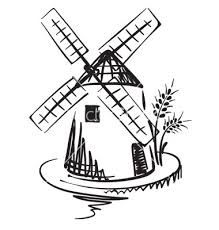 Drawn windmill old Drawings Drawing free Dutch Search