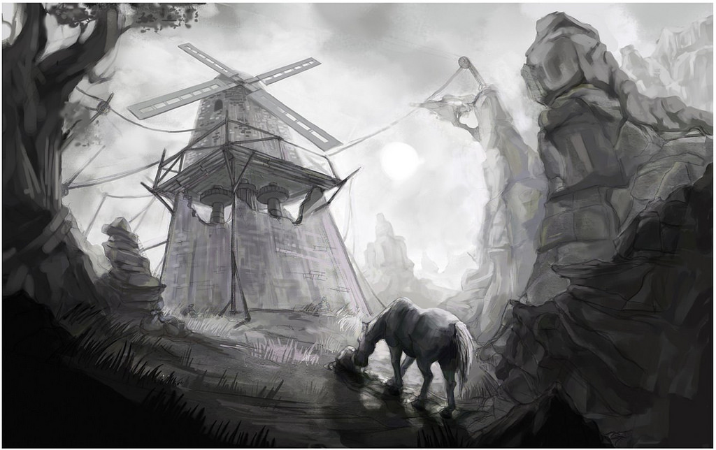 Drawn windmill animal farm The (with (Windmill) Archetypes images)