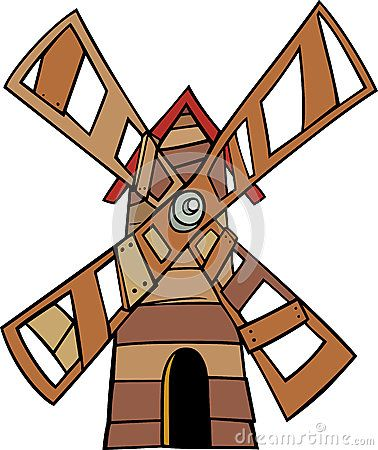 Windmill clipart stretch About Windmill images illustration Pinterest