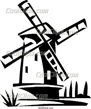 Netherlands clipart windmill Clipart Images Clipart Windmill Clipart