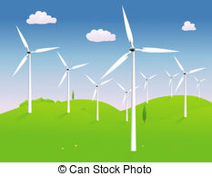 Windmill clipart energy windmill Hilly in Windmills a power