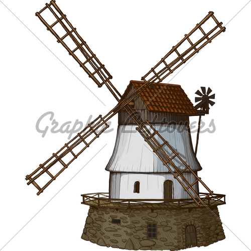 Drawn windmill old Drawn Method Old Like GL
