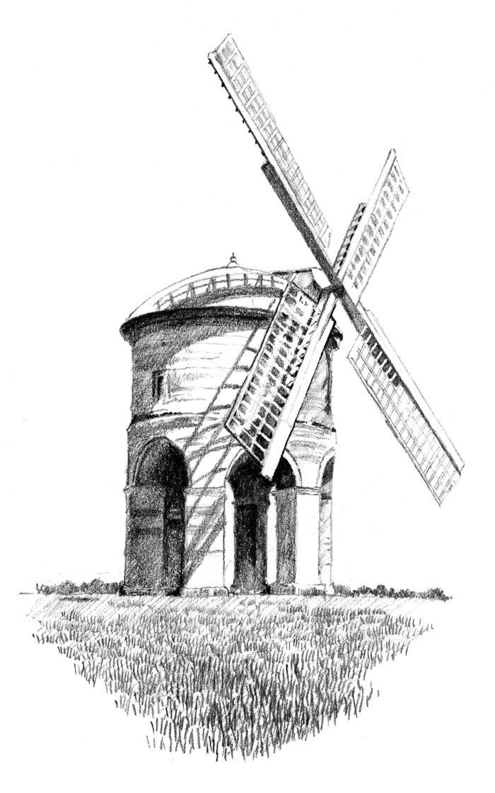 Drawn windmill  urban windmill Search Search