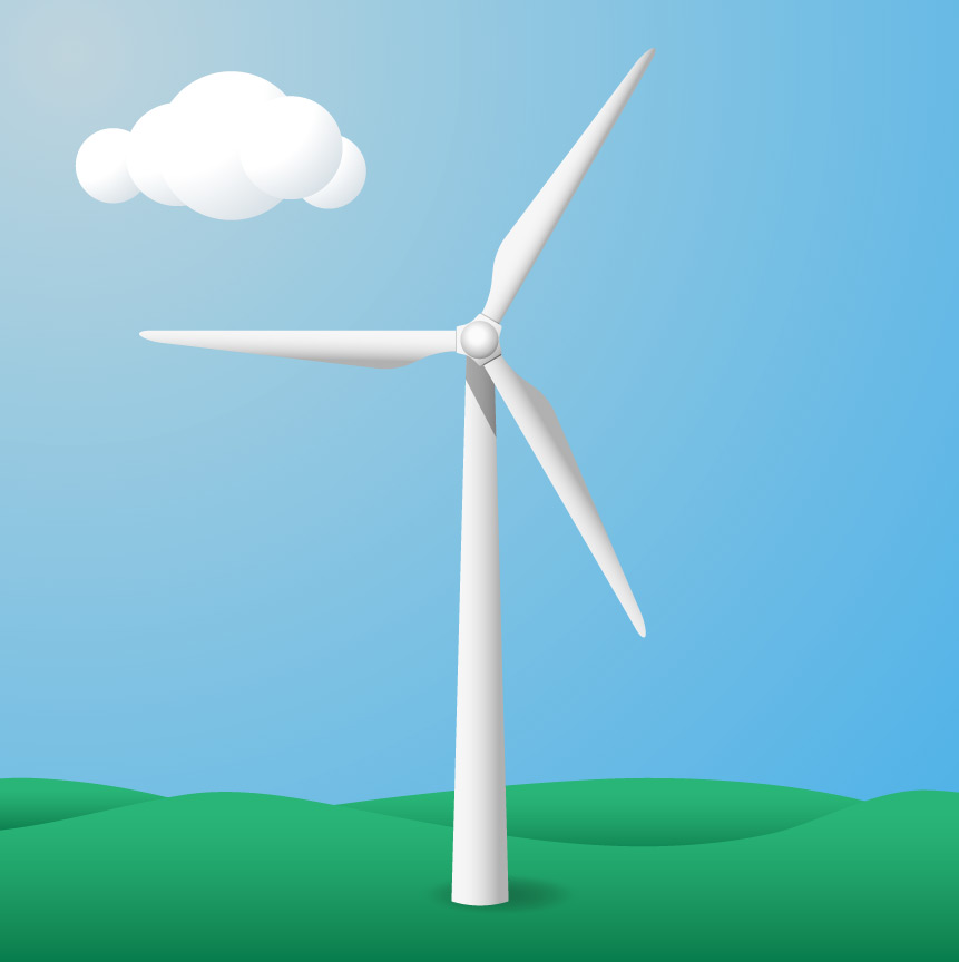Wind Turbine clipart modern windmill In have from ready a