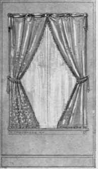 Drawn curtain Decorate ~ Side Curtains in