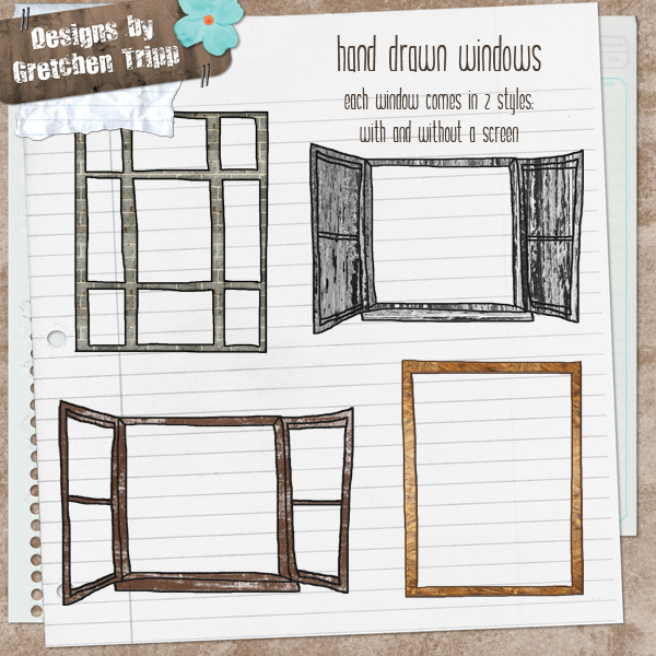 Drawn windows Drawn Sisters Faith Scrapbooking Gallery