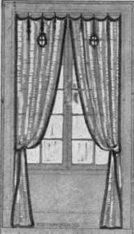 Drawn curtain Drawing without 5 Continued open