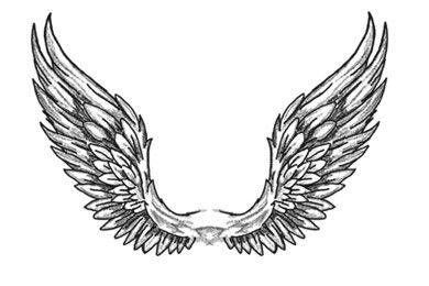 Drawn wings Tattoos&Piercings wings wings Wings Angel