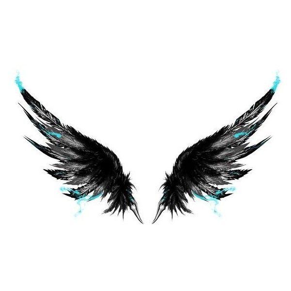 Drawn wings Tattoo 25+ Ink Pinterest ideas