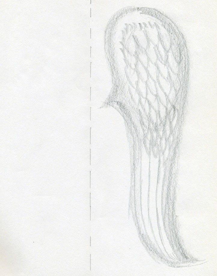 Drawn angel angel feather Steps Angel Wings Few How