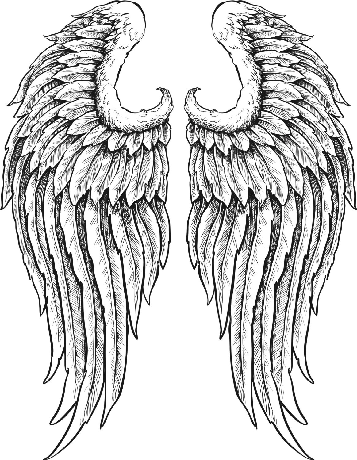 Wings clipart detailed Angel WITH Vinyl Art