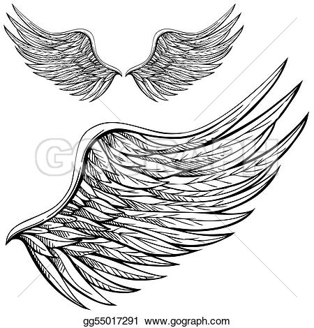 Angel clipart side view Art Vector Drawing Cartoon Drawing