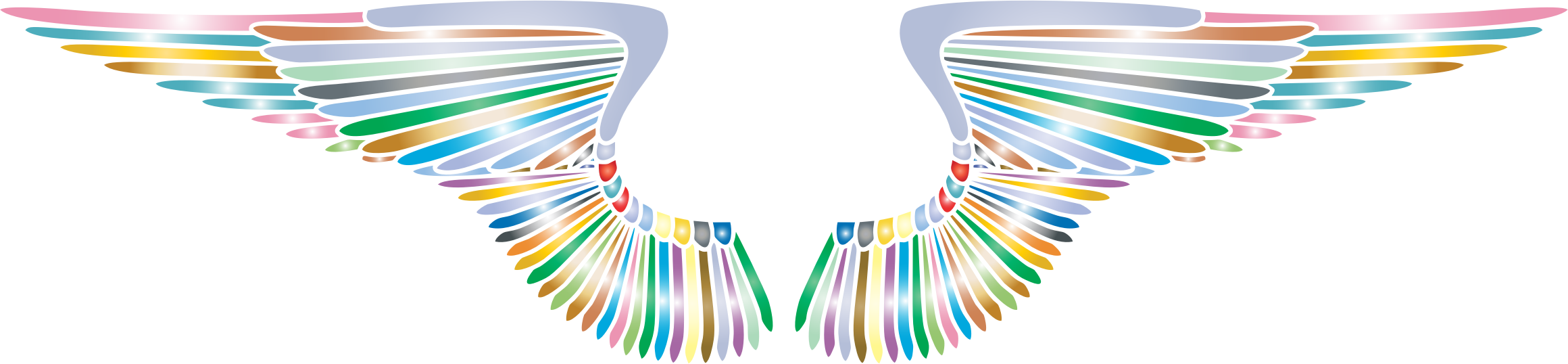 Wings clipart drawn Wings Clipart Prismatic Wings Prismatic
