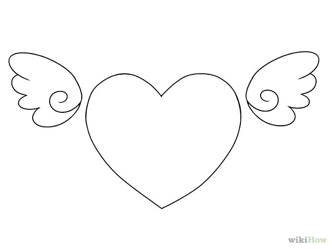 Drawn hearts cute Free 4  wikiHow Wings