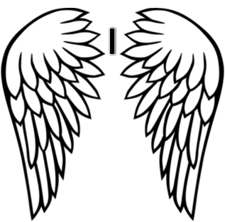 Wings clipart easy Download Free library  Tattoo