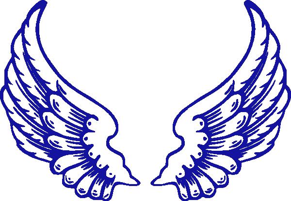 Wings clipart falcon wings Clip  Clip Art Wings