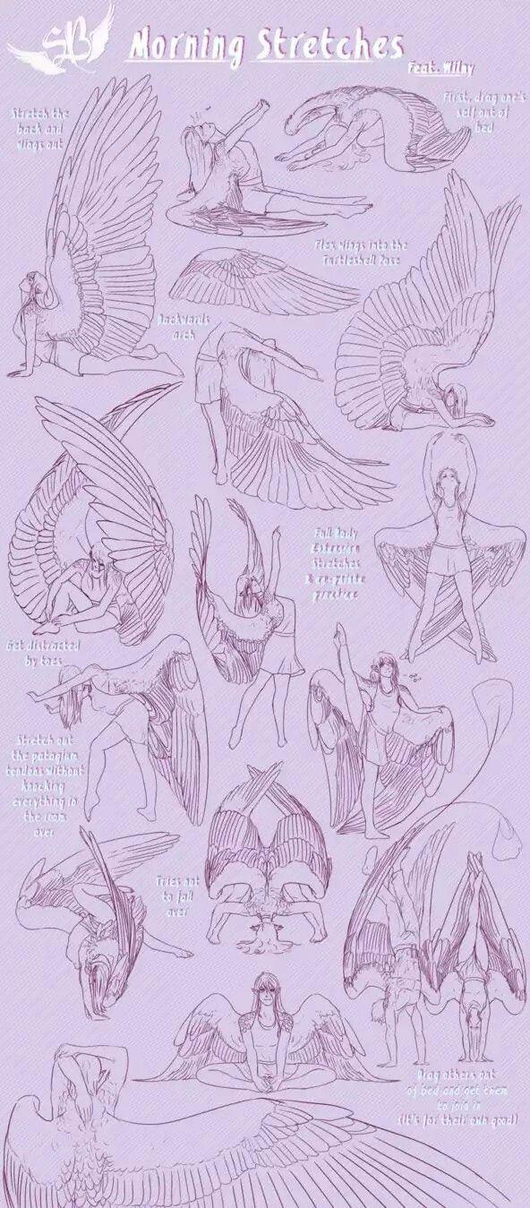 Drawn angel angel wing On Asas  drawing ideas