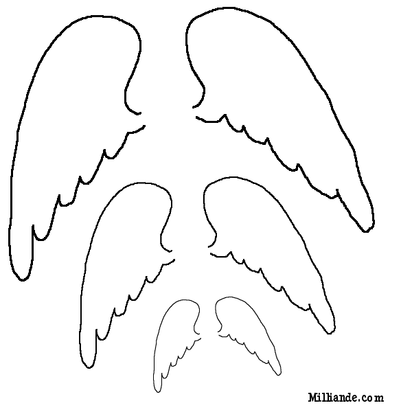 Wings clipart printable Print Printables Paper Doll Print