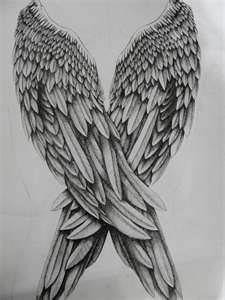 Drawn angel big wing On by  wings @DeviantArt