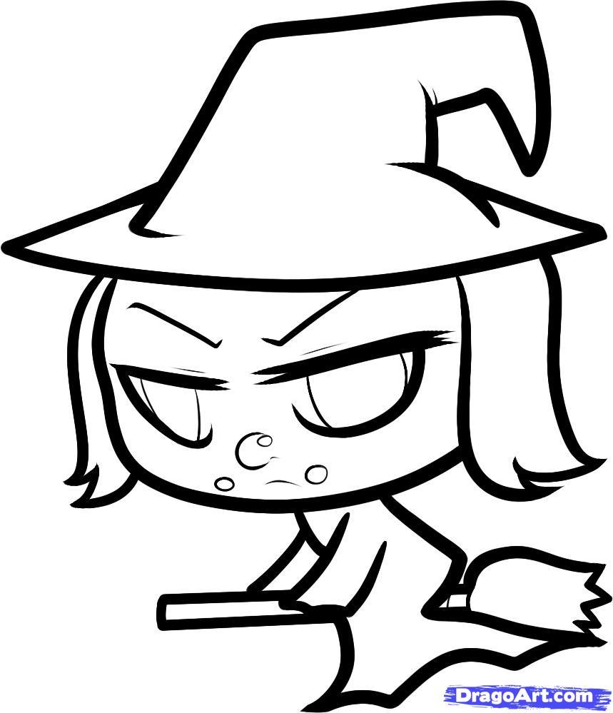 Drawn witch To witch witch Witch chibi
