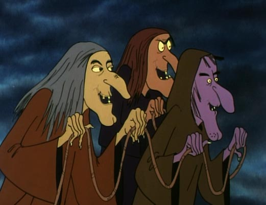 Drawn witchcraft animated (1979 and (1979 The Witch