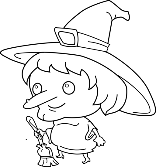 Witchcraft clipart black and white Art Clipartix clip Witch witch
