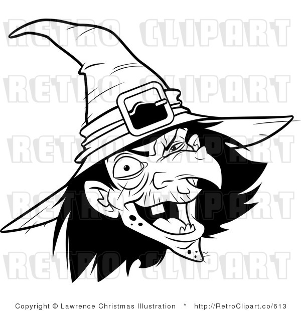 Witch clipart witch face Witch Download Clipart White Face