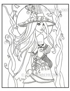 Drawn witchcraft color By tag Kleurplaten pages Coloring