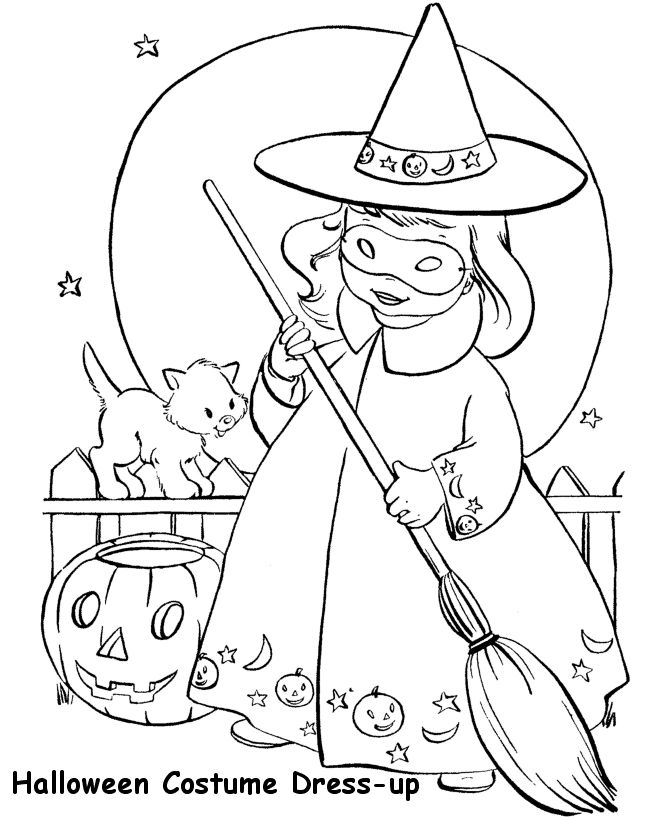 Witch clipart color Halloween Art (B&W) Pinterest Clip